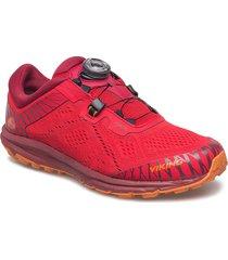 apex ii gtx w shoes sport shoes running shoes röd viking