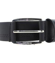 cinturones marca san polos san polos - negro