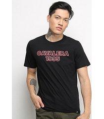 camiseta t-shirt cavalera masculina