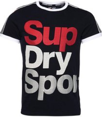 superdry men's athletico sport logo t-shirt