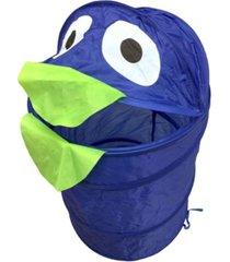 cesto organizador roupa suja brinquedos dobrã¡vel infantil azul - multicolorido - dafiti