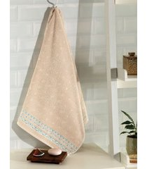 toalha de rosto dohler jacquard premium, liso, rosa - 6793