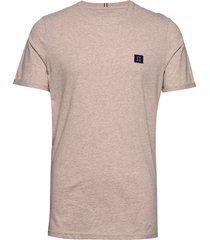 piece t-shirt t-shirts short-sleeved beige les deux