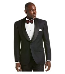 jos. a. bank tailored fit tonal floral formal dinner jacket - big & tall clearance, by jos. a. bank