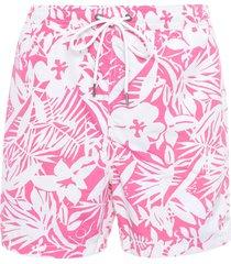 short masculino praia antibes - rosa