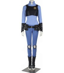zootopia officer judy hopps cosplay costume adult women halloween party outfit