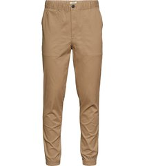 slhslimtapered-mateo pants w chino broek beige selected homme