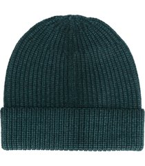 altea ribbed knit hat - green