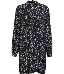 nenee dress ls korte jurk blauw tommy hilfiger