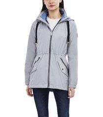 halifax hooded lightweight anorak coat