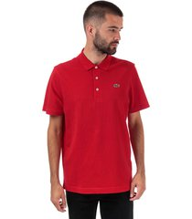 mens regular fit pique polo shirt