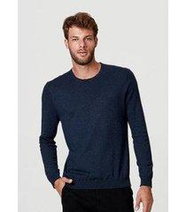 blusa hering tricô de algodão e cashmere masculino