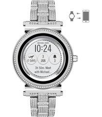 reloj michael kors para mujer -  smartwatch  mkt5024
