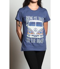 camiseta back to the road