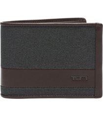 tumi men's alpha slg double billfold wallet