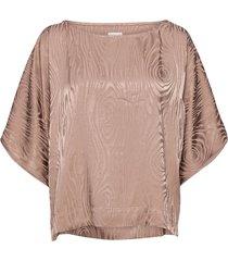 kaarna box shirt blouses short-sleeved roze hálo