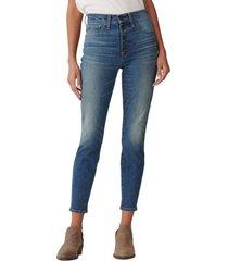women's lucky brand bridgette skinny jeans, size 3127 - blue