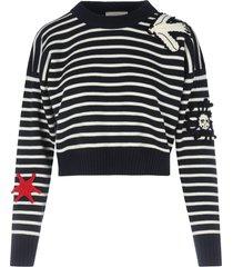 alexander mcqueen crew neck pullover stripes