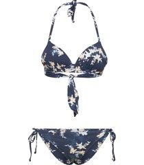 value line mold tri set bikini blå roxy