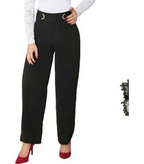 envío gratis pantalon aleja negro para mujer croydon