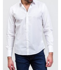 camisa blanco prototype icaria