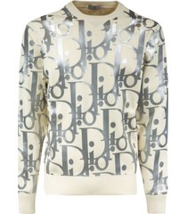 christian dior all-over logo pullover