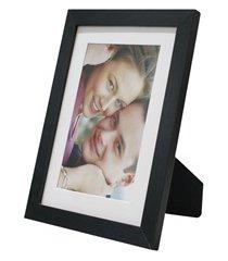 porta retrato com paspatur insta 15x21cm preto