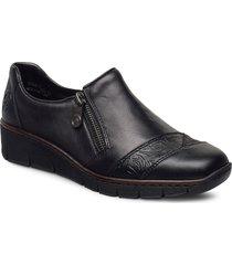 53761-00 loafers låga skor svart rieker