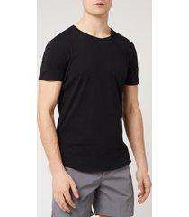 orlebar brown men's crewneck t-shirt - black - xl