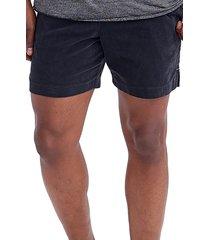 men's goodlife stretch corduroy shorts, size x-large - black