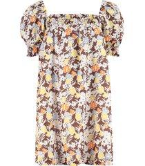 tory burch cotton mini-dress