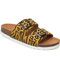 vmalda leather sandal shoes summer shoes flat sandals gul vero moda
