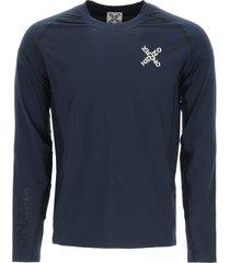 kenzo kenzo sport long-sleeved t-shirt cross logo