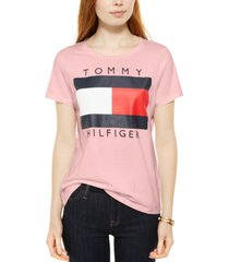 tommy hilfiger cotton logo t-shirt