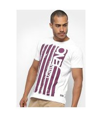 camiseta onbongo time to surf masculina