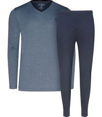 jockey pyjama knit loong sleeve 14 3xl-6xl * gratis verzending *