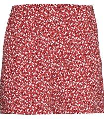 d2. french floral fluid shorts shorts flowy shorts/casual shorts röd gant