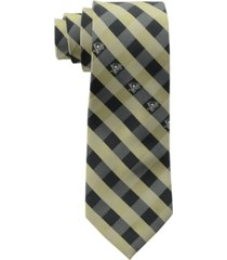 eagles wings pittsburgh penguins checked tie