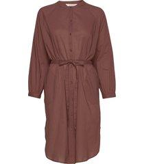 zita jurk knielengte bruin gai+lisva