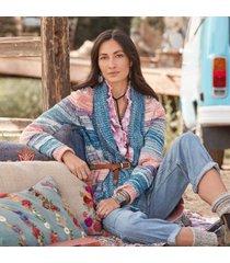 sundance catalog women's hayden cardigan large