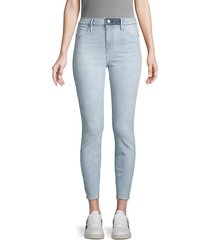 rta women's stretch cropped jeans - lovelight blue - size 25 (2)