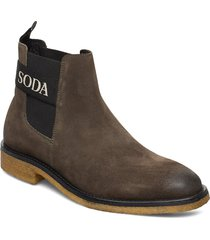 picaro chelsea shoes chelsea boots grön scotch & soda shoes