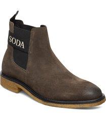picaro chelsea shoes chelsea boots grön scotch & soda shoes
