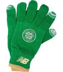 mens celtic fc knitted gloves