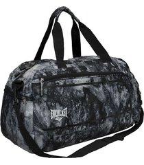 maleta deportiva snow  everlast negro