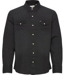 27mw overhemd casual zwart wrangler