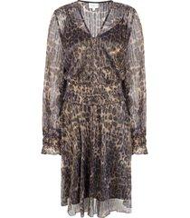 jurk met luipaardprint aida  dierenprint