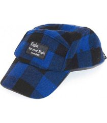 gorra adrian azul fight for your right
