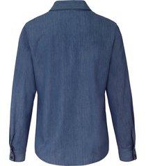 blouse van peter hahn denim