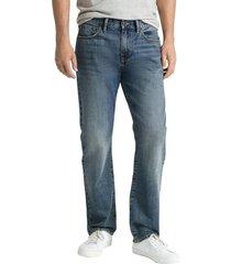 jeans straight medium dark wash azul gap